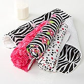 Little Zebra Burp Cloth Set - 15791