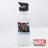Personalized Avengers Water Bottle - 15792