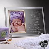 Personalized Baby Glass Reflection Frame - Precious Moments - 15794