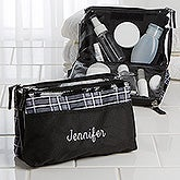 Embroidered Name Travel Cosmetic Case - 15820