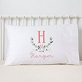 Personalized Kids Pillowcase - Girly Chic - 15832
