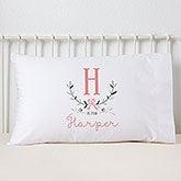 Personalized Kids Pillowcase - Girly Chic - 15832