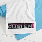 Personalized Women's Gym Towels - Girls Don't Sweat - 15840