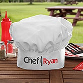 Personalized Adult Chef Hat - The Chef - 15851
