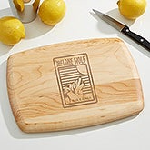 Personalized Cutting Board With Your Business Logo - 15864