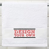 Design Your Own Personalized Hand Towel - 15879