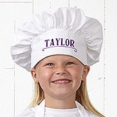 Personalized Kids Chef Hat - Chef In Training - 15883