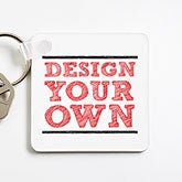 Design Your Own Personalized Key Ring - 15886