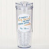 Personalized Flip 'n' Sip Tumbler - Teacher - 15894