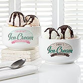 Personalized Ice Cream Bowl - Ice Cream Shoppe - 15899