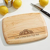 Personalized Maple Bar Board - You Name It! - 15912