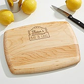Personalized Sports Bar Cutting Board - 15926