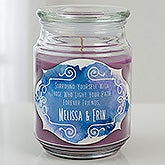 Personalized Friendship Candles - Friendship Lights The Path - 15937
