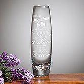 Personalized Bud Vase - We Love Grandma - 15950