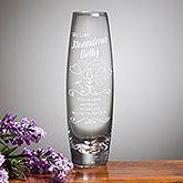 Personalized Bud Vase - We Love Grandma - 15950