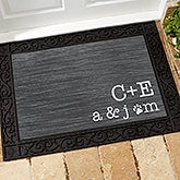 Personalized Family Doormat - Family Initials - 15966