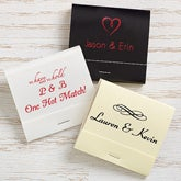 Personalized Matches - Wedding & Anniversary - 15986D