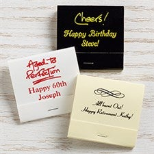 Personalized 30-Strike Matches - Party Time - 15987D