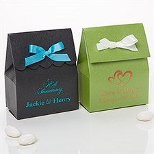 Wedding & Anniversary Stardream Personalized Tote Favor Boxers With Ribbon - 15991D