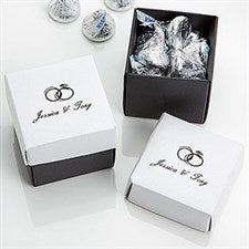 Wedding & Anniversary Personalized 2-Piece Stardream Favor Boxes - 16006D