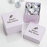 Personalized Baby Favor Boxes - 2-Piece Stardream - 16007D