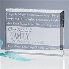 Engraved Keepsake - Family Is Love - 16028