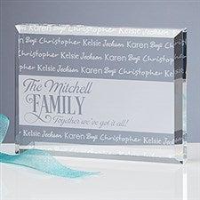 Engraved Keepsake - Family Is Love - 16028
