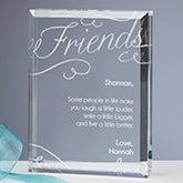 Engraved Keepsake - Friends Forever - 16030