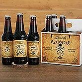 Personalized Beer Bottle Labels Set Of 6 - Vintage Halloween - 16051