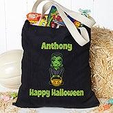 Personalized Halloween Treat Bag - Halloween Characters - 16105