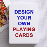 Design Your Own Personalized Playing Cards - 16139
