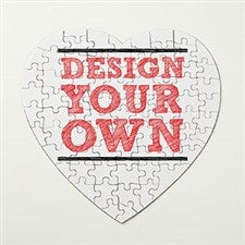 Design Your Own Personaliezd Heart Puzzle - 16140