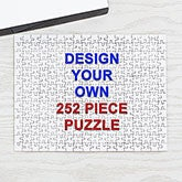 Design Your Own Personalized 252 Piece Rectangle Puzzle - 16141