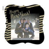 Personalized Holiday Cards - Sparkling New Year - 16155