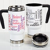 Personalized Commuter Mug - Signature Style - 16162