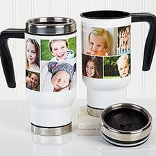 Personalized Commuter Mug - Create A Photo Collage - 16166