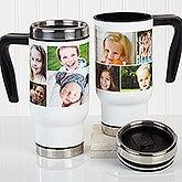 Personalized Commuter Mug - Create A Photo Collage - 16166