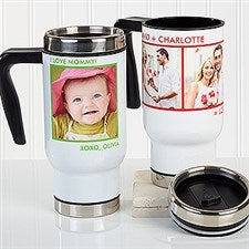Personalized Photo Commuter Travel Mug - Picture Perfect - 16172