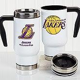 Personalized NBA Basketball Team Travel Mugs - 16186