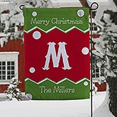 Personalized Christmas Garden Flag - Jolly Jester - 16192