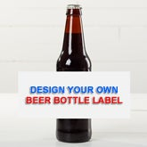Design Your Own Personalized Beer Bottle Labels - Set Of 6 - 16230