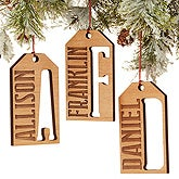 Personalized Gift Tag Christmas Ornaments - All About Family - 16235