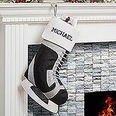 Personalized Hockey Skate Christmas Stocking - 16289