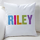 Personalized Kids Throw Pillow - All Mine! - 16306