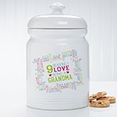Personalized Cookie Jar - Reasons Why - 16308