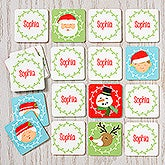 Personalized Memory Game for Kids - Christmas Characters - 16311