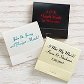 Personalized Wedding & Anniversary 30-Strike Matches - 16316D