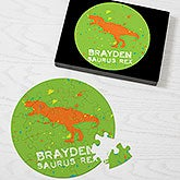 Personalized Puzzles - Dinosaurs - 16318