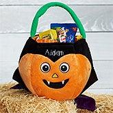 Personalized Plush Halloween Treat Bag - Dracula - 16323