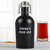 Personalized Stainless Steel Insulated Growler - You Name It - 16327